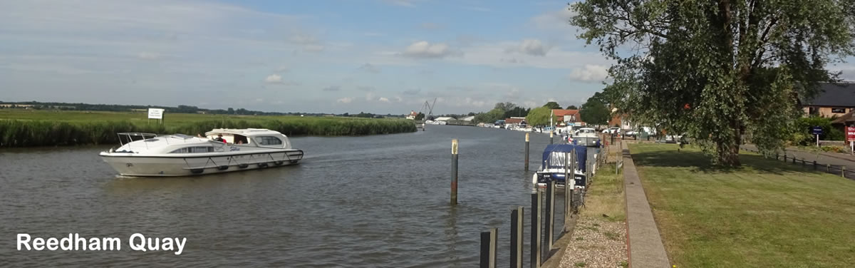 The moorings at Reedham