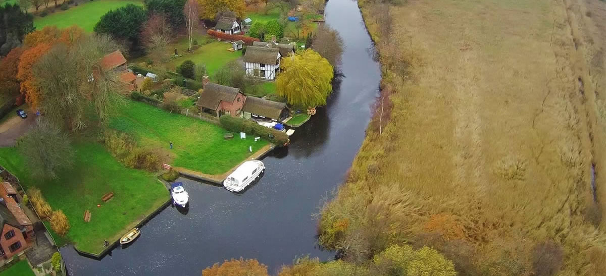 Irstead aerial view4
