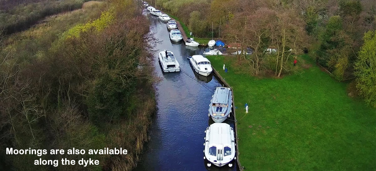 More moorings in the dyke