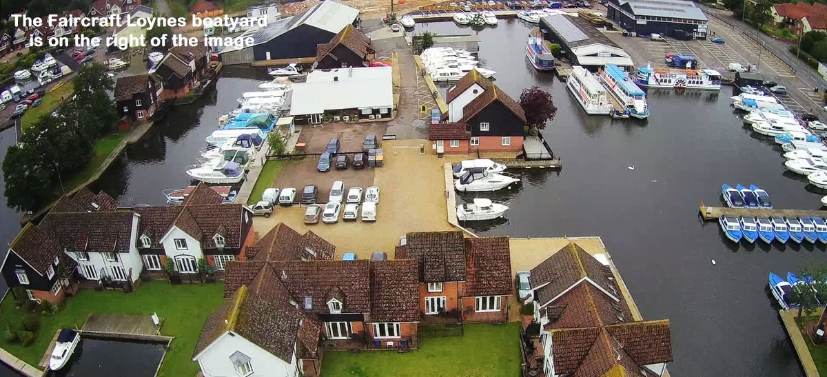 The Faircraft Loynes boatyard
